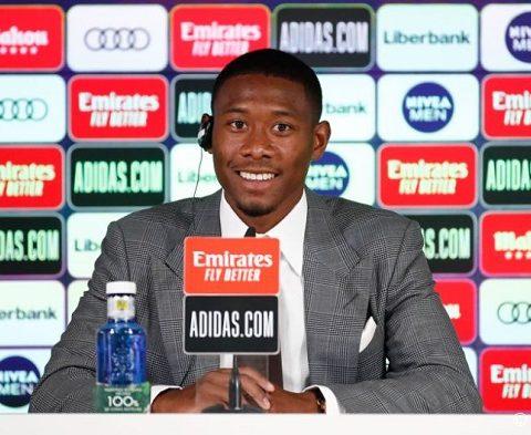 อลาบา ดีใจได้ย้ายร่วมทีมที่ดีที่สุดในโลกอย่าง มาดริด